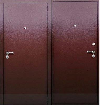 антивандальные шумозащитные металлические двери